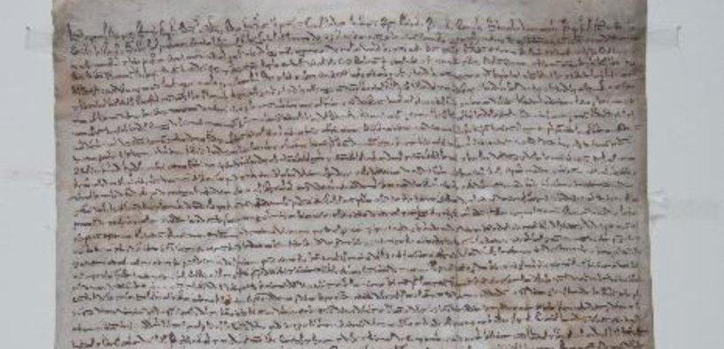 La Magna Charta del 1217 in mostra a Vercelli