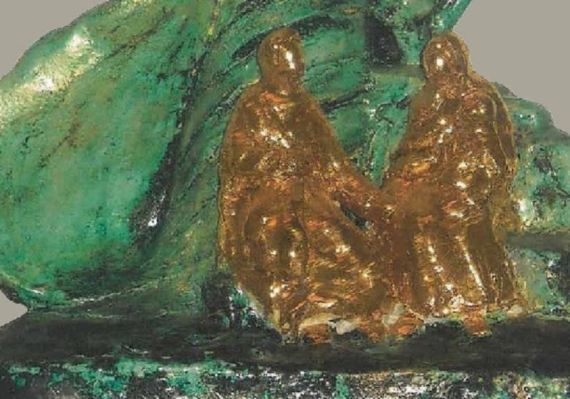 Conoscere Maria con le ceramiche di Delia Zucchi