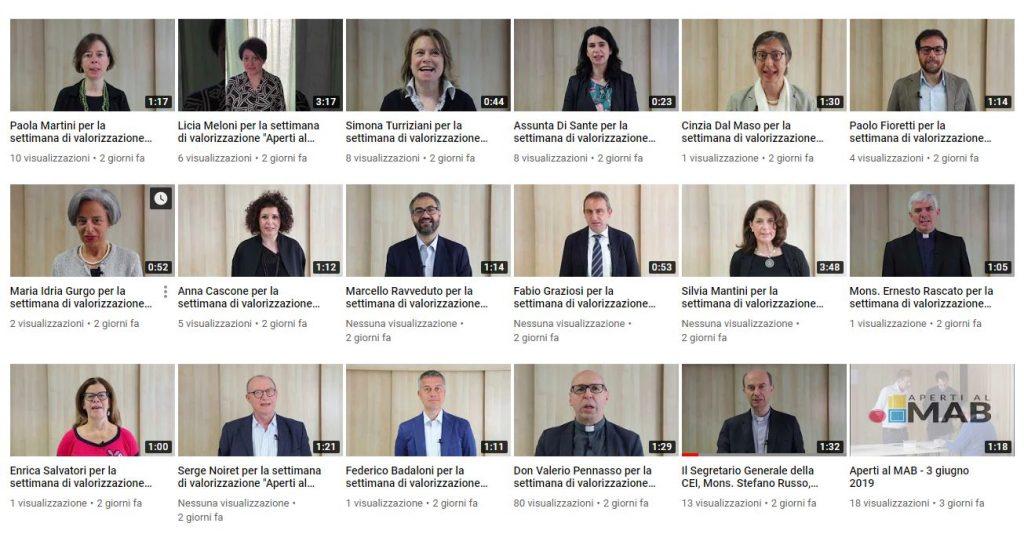 Aperti al MAB: le prime interviste su YouTube